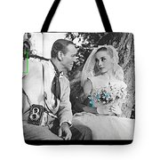 Fred Astaire And Audrey Hepburn Publicity Photo Funny Face Paris France 1957-2014 Tote Bag