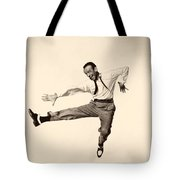 Fred Astaire In Daddy Long Legs 1955 Tote Bag