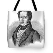 Frederic Chopin (1810-1849) Tote Bag