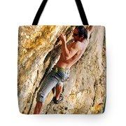 Free Climber Tote Bag
