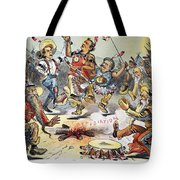 Free Silver Cartoon, 1896 Tote Bag
