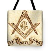Freemason Symbolism By Pierre Blanchard Tote Bag