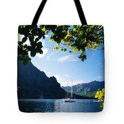French Polynesia, Moorea Tote Bag