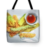 Fried Shrimps Tempura Tote Bag