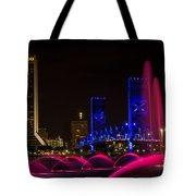 Friendship Park Fountain Tote Bag