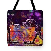 Frogs Love Valentine S Day Pose  Tote Bag