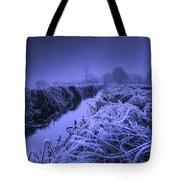 Frosty Field Tote Bag