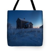 Frozen And Forgotten Tote Bag