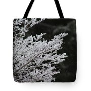 Frozen Branches Tote Bag