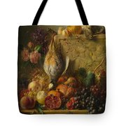 Fruit Flowers And Game Tote Bag
