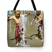Fun With Water. Tote Bag