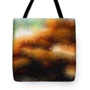 Fungus Tendrils Tote Bag