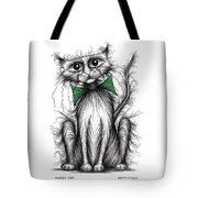 Fuzzy Cat Tote Bag