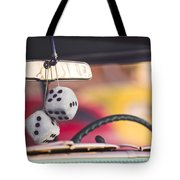 Fuzzy Dice Tote Bag