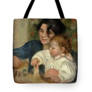 Gabrielle And Jean Tote Bag