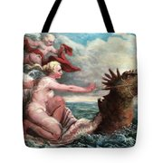 Galatea In Egress Tote Bag