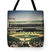 Game Day In Oakland Tote Bag