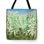 Garden In Blossom Tote Bag