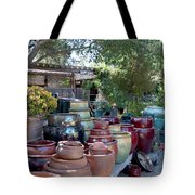 Garden Shoppe At Windmill Farms Digital Painting Tote Bag