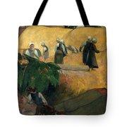 Gauguin: Breton Women Tote Bag