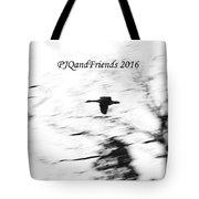 Geese Flyover Tote Bag