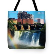 Genesee River Rainbow Tote Bag