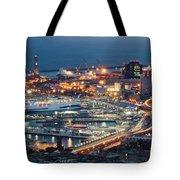 Genoa Blue Hour Tote Bag