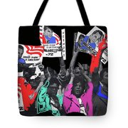 George Wallace For President Supporters Democratic Nat'l Convention Miami Beach Florida 1972-2013 Tote Bag