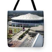 Georgia Dome In Atlanta Tote Bag