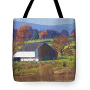 Gettysburg Barn Tote Bag by Bill Cannon