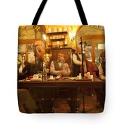 Ghost Musicians Tote Bag