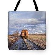 Ghost Train Tote Bag