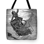 Giant Squid, 1879 Tote Bag