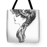 Gibson Girl, 1903 Tote Bag