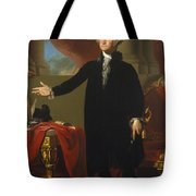 Gilbert Stuart - George Washington 1796 Tote Bag