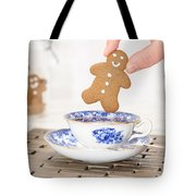 Gingerbread In Teacup Tote Bag