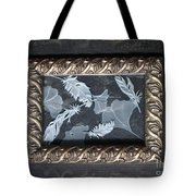 Ginko Leaves And Feathers Tote Bag