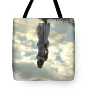 Girl And The Sky Tote Bag by Joana Kruse