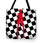 Girls. Red. II Tote Bag