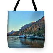 Glacier Two Medicine Sunrise  Tote Bag