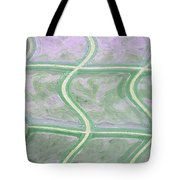 Glass Abstract Tote Bag