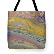 Glide Across The Galaxy Tote Bag