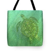 Gliding Green  Tote Bag