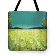 Canola Field N04 Tote Bag