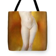 Glow Of Gold Gleam Of Pearl Tote Bag by William McGregor Paxton