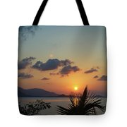 Glowing Horizon Tote Bag