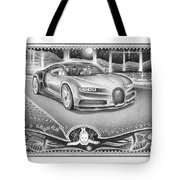 God Watches Over Tote Bag