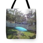 Gods Backyard Tote Bag