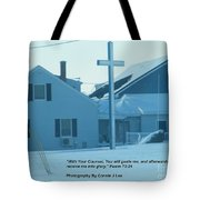Gods Counsel Car Is Not Photoshopped Tote Bag