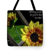 God's Creation Tote Bag